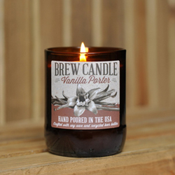 vanilla porter brew candle